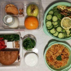 پکیج غذای رژیمی هفتگی شماره 1