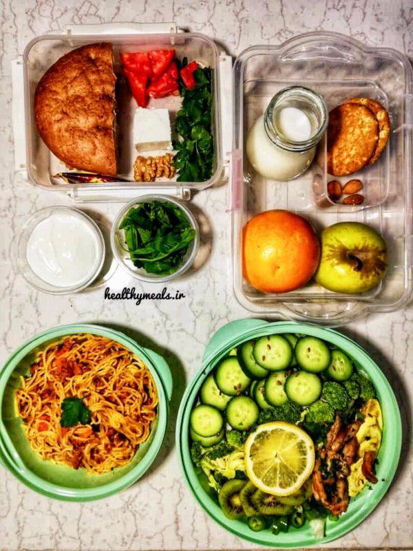 پکیج غذای رژیمی بیماران خاص