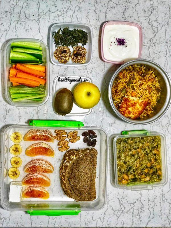 پکیج غذای رژیمی هفتگی شماره 2