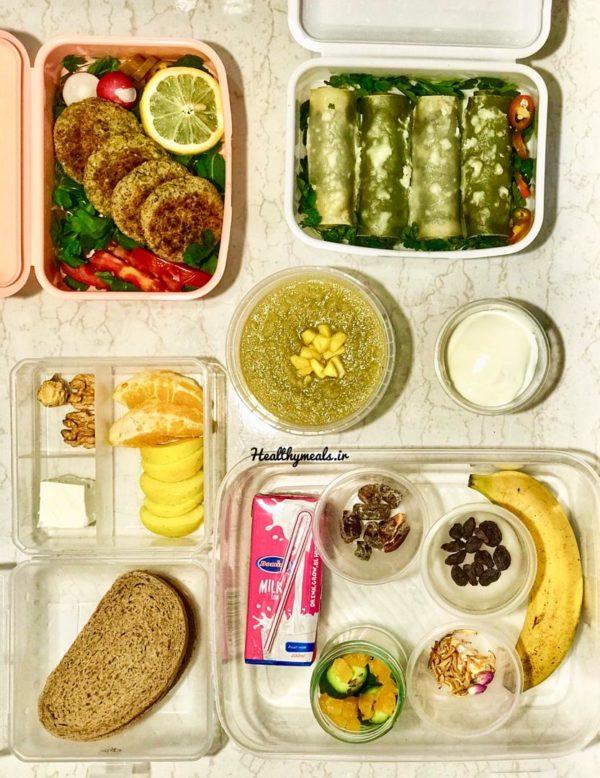 پکیج غذای رژیمی ماهانه شماره 2