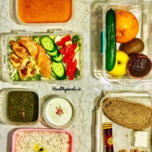 پکیج غذای رژیمی ماهانه شماره 4