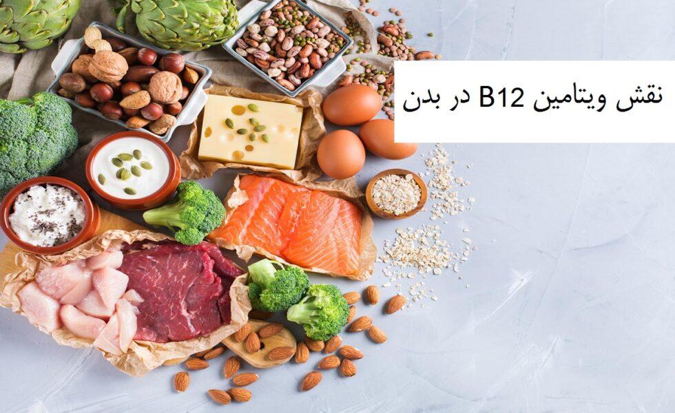 نقش ویتامین B12 در بدن