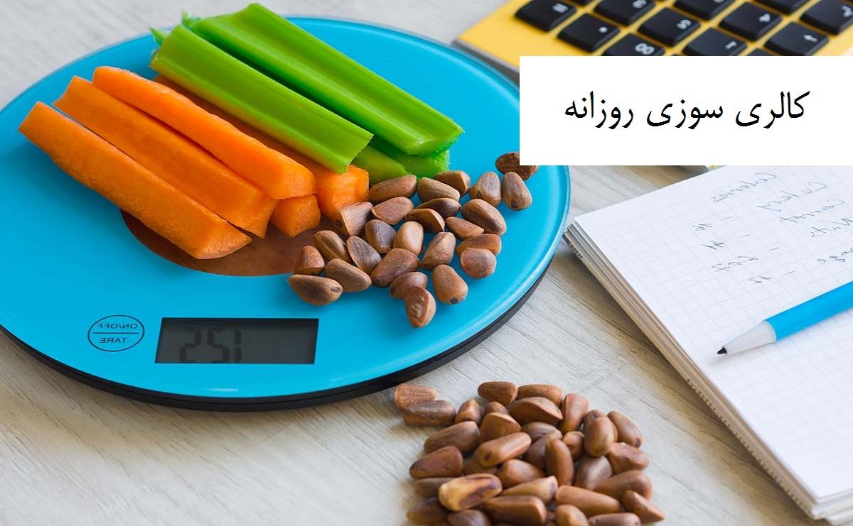 کالری سوزی روزانه