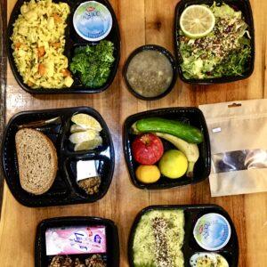 پکیج غذای رژیمی روزانه