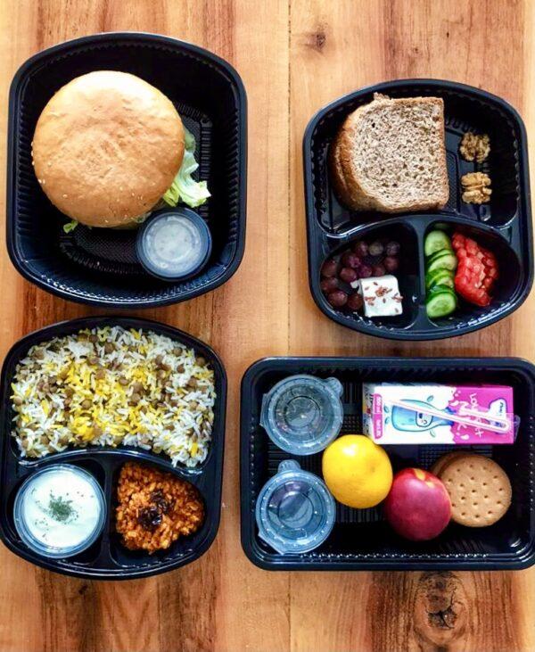 پکیج غذای رژیمی ماهانه - مرد